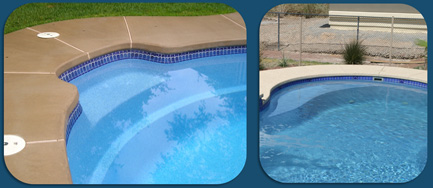 Viking Fiberglass Swimming Pools Seats & Lounge Areas