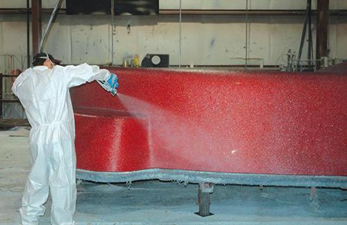 Fiberglass Inground Pool Manufacturing Step 02